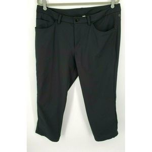 Lululemon ABC Pants Black 5 Pockets Reflective Hem